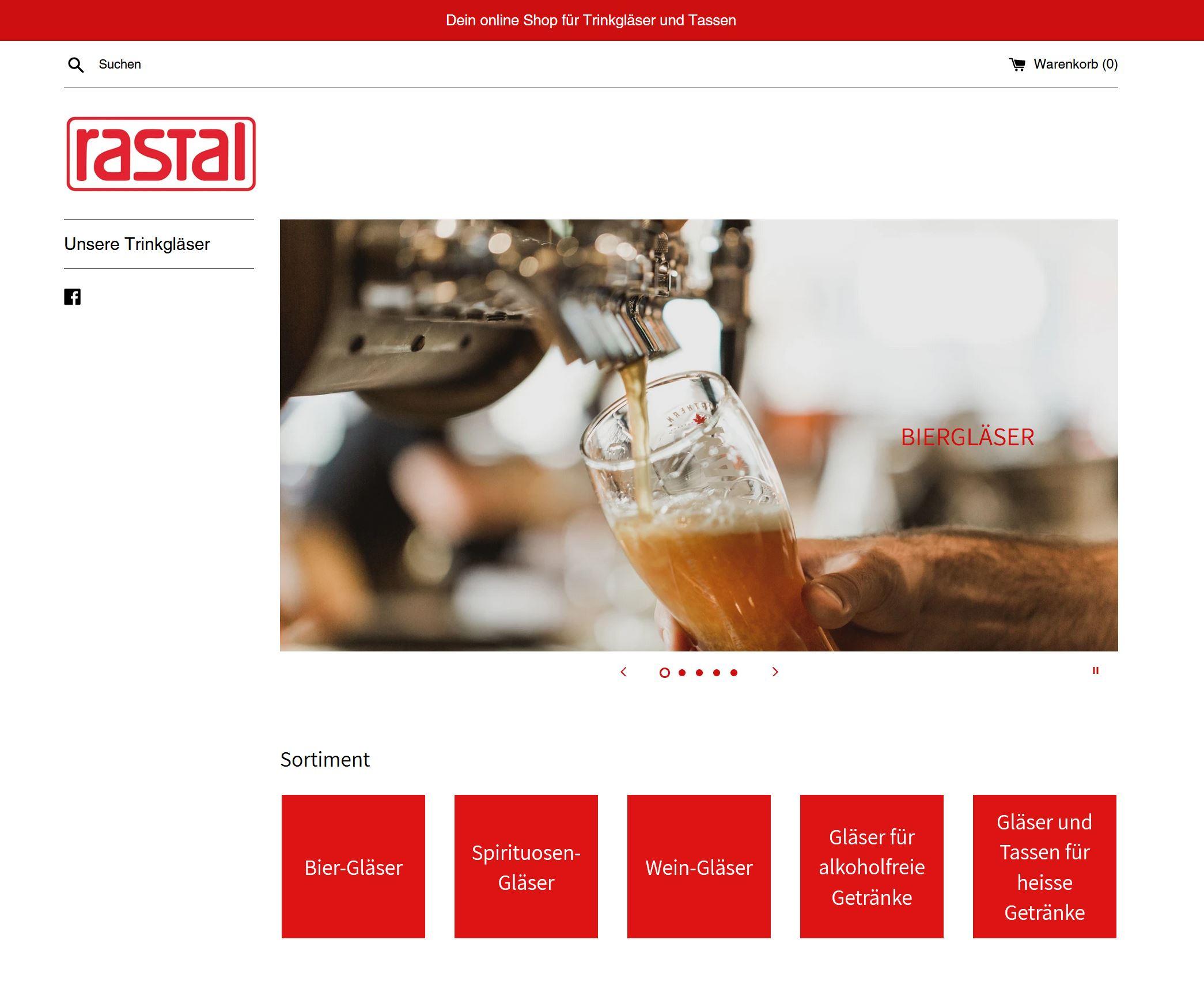Rastal CH Online Shop